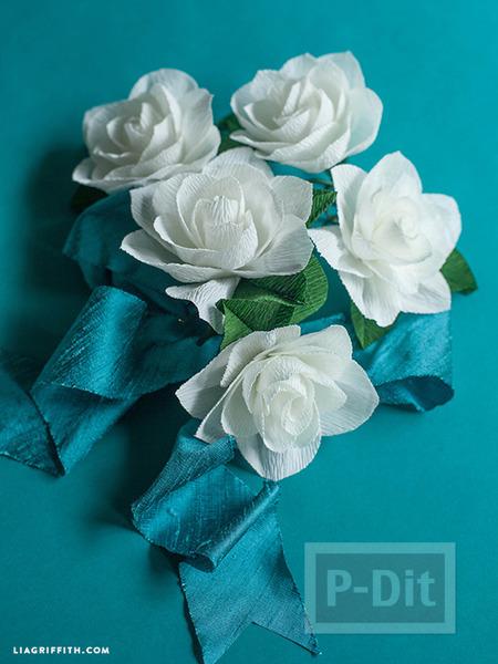 รูป 2 สอนทำดอกไม้ประดิษฐ์ ทำเองแบบง่ายๆ