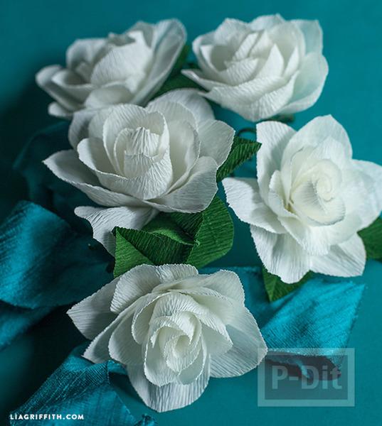 รูป 4 สอนทำดอกไม้ประดิษฐ์ ทำเองแบบง่ายๆ