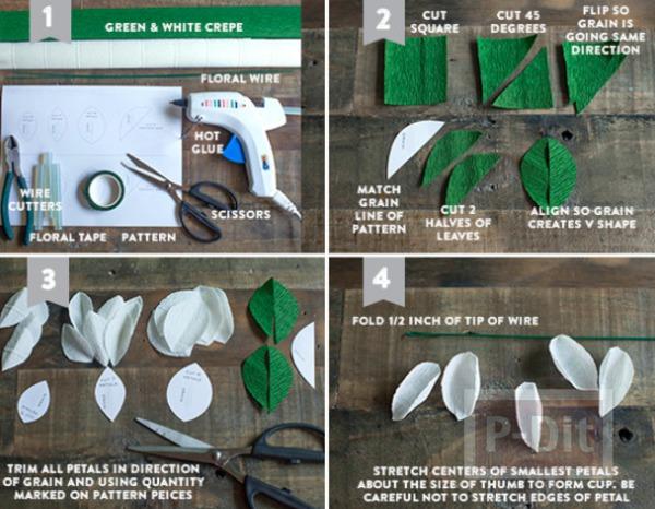 รูป 5 สอนทำดอกไม้ประดิษฐ์ ทำเองแบบง่ายๆ