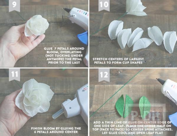 รูป 7 สอนทำดอกไม้ประดิษฐ์ ทำเองแบบง่ายๆ