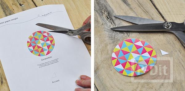 รูป 4 สอนทำที่ทับกระดาษ ตกแต่งลายสวย
