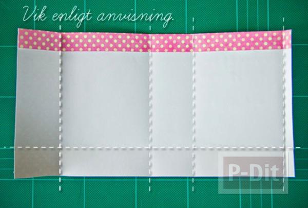 รูป 5 สอนพับถุงของขวัญ จากกระดาษสีสวย