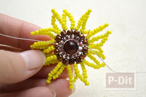 รูป 4 สอนทำแหวน ดอกทานตะวัน