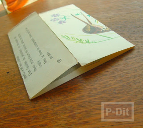 รูป 2 สอนพับถุงกระดาษ ลายสวย