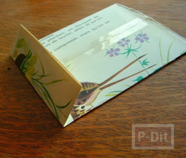 รูป 3 สอนพับถุงกระดาษ ลายสวย