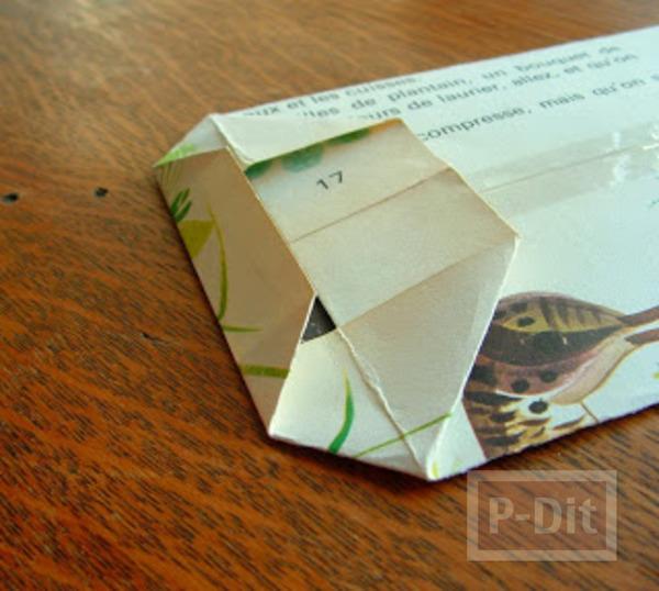 รูป 5 สอนพับถุงกระดาษ ลายสวย