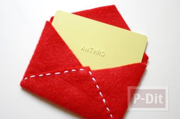 รูป 6 สอนทำซองจดหมาย ขนาดพอดีกับจดหมาย หรือการ์ด