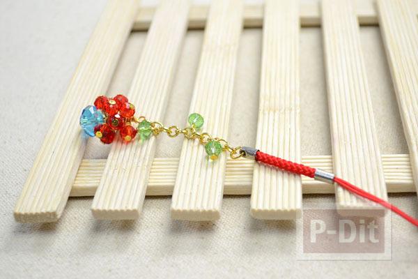 รูป 7 สอนทำพวงกุญแจ แขวนโซ่ ลูกปัดสีสวย