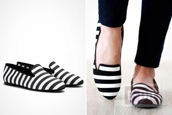 รองเท้าลายสวยๆ ทำเองแบบง่ายๆ