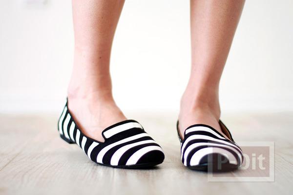 รูป 5 รองเท้าลายสวยๆ ทำเองแบบง่ายๆ