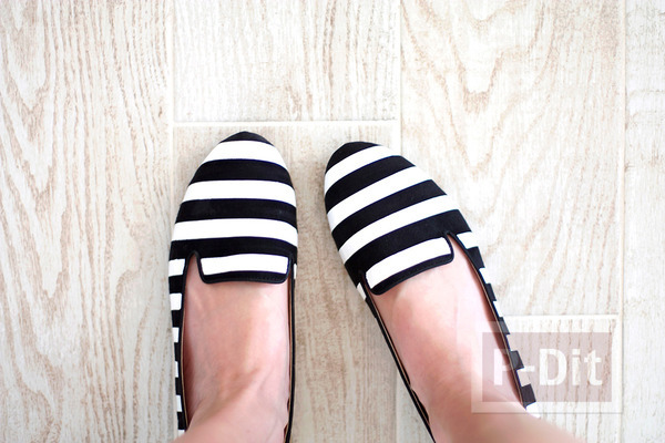 รูป 7 รองเท้าลายสวยๆ ทำเองแบบง่ายๆ