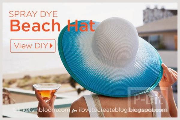 รูป 3 พ่นสี หมวกสวย เดินชายหาด