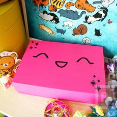 ตกแต่งกล่องเก่า ให้มีสีสัน ลายน่ารัก