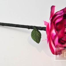 ดินสอไม้ ประดับดอกไม้ประดิษฐ์