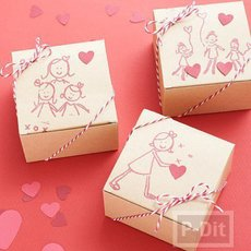 กล่องของขวัญน่ารักๆ สำหรับแม่