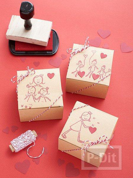 รูป 4 กล่องของขวัญน่ารักๆ สำหรับแม่