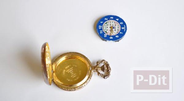 รูป 3 ไอเดียของขวัญวันแม่ รูปแบบพกพา ติดในที่เก็บนาฬิกาเล็กๆ