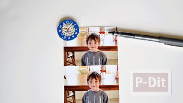 รูป 5 ไอเดียของขวัญวันแม่ รูปแบบพกพา ติดในที่เก็บนาฬิกาเล็กๆ