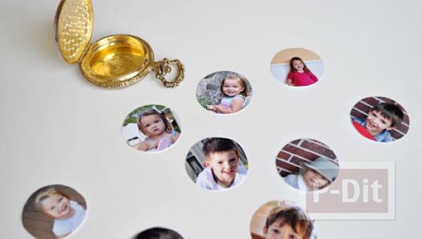 รูป 6 ไอเดียของขวัญวันแม่ รูปแบบพกพา ติดในที่เก็บนาฬิกาเล็กๆ
