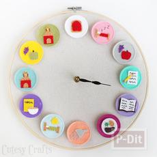 นาฬิกาบอกเวลา ทำกิจกรรมต่างๆ