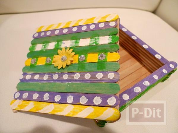 สอนทำกล่องใส่เครื่องประดับ จากไม้ไอติม