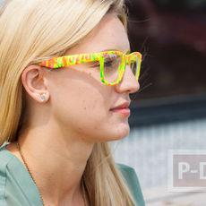แว่นตาแฟนซี ระบายสีสวยๆ