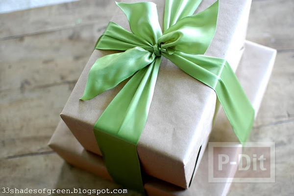 รูป 7 ทำดอกมะลิ ประดับกล่องของขวัญ