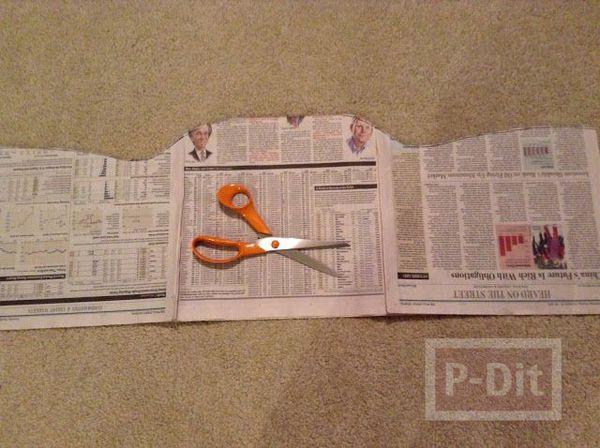 รูป 5 ชุดเดรสสวยๆ ทำจากกระดาษนิตยสาร