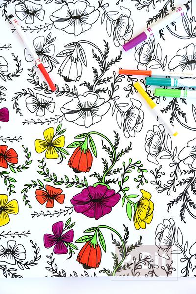 รูป 3 กระดาษห่อของขวัญ ระบายสีสวย