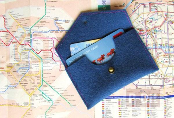 สอนทำกระเป๋าสตางค์ จากผ้า