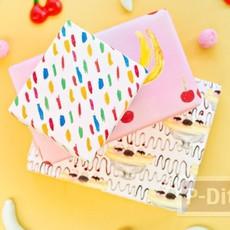ลายกระดาษห่อของขวัญ สีสด น่ากิน