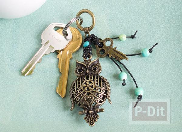 พวงกุญแจ ลายนกฮูก สวยๆ