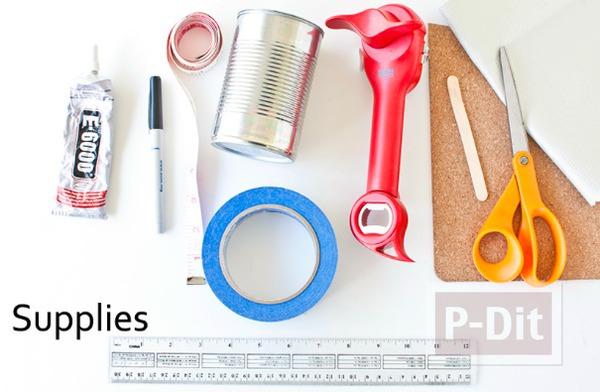 รูป 2 สอนทำที่ใส่ดินสอ จากแผ่นหนังเทียม