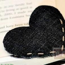 ที่คั่นหนังสือ ทำจากกางเกงยีนส์