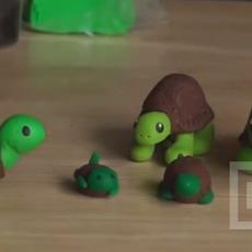 ปั้นเต่า ดินน้ำมัน