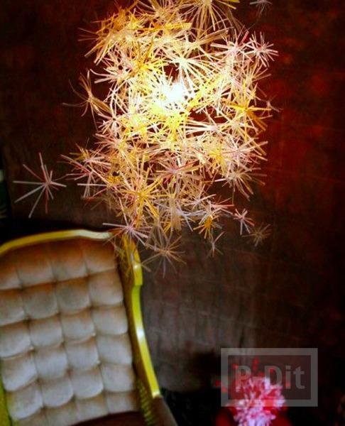 รูป 1 โคมไฟประดับบ้าน ประดับหลอด