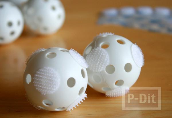 รูป 3 ทำของเล่นง่ายๆ ลูกบอล กับถุงมือ