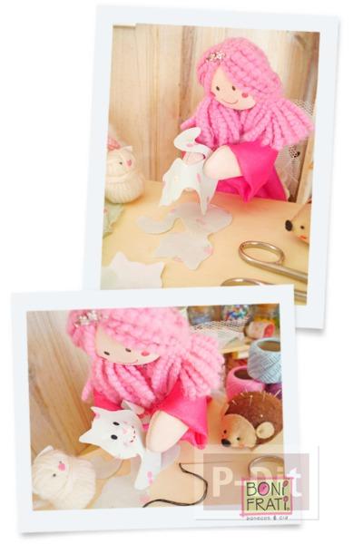 รูป 4 แพทเทิร์นตุ๊กตาแมว ตัวเล็กๆน่ารักๆ ประดับบ้าน