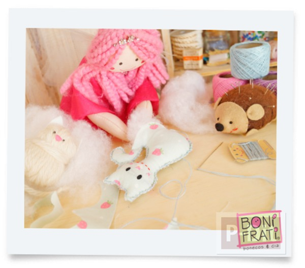 รูป 5 แพทเทิร์นตุ๊กตาแมว ตัวเล็กๆน่ารักๆ ประดับบ้าน