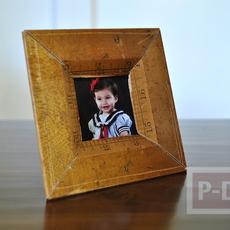 กรอบรูป ทำจากไม้บรรทัด