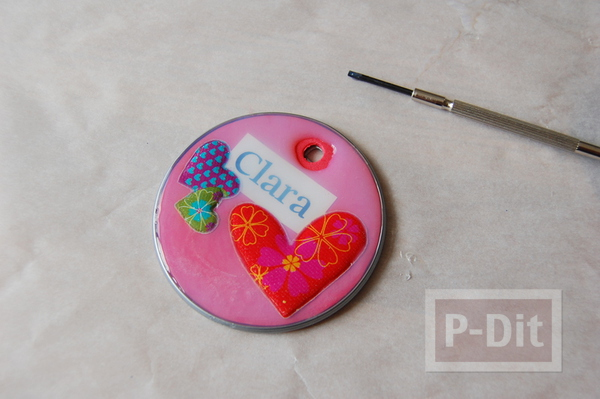 รูป 6 พวงกุญแจห้อยกระเป๋าสวยๆ ทำจากฝากระป๋อง
