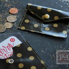 กระเป๋าเงินเหรียญทำเองแบบง่ายๆ