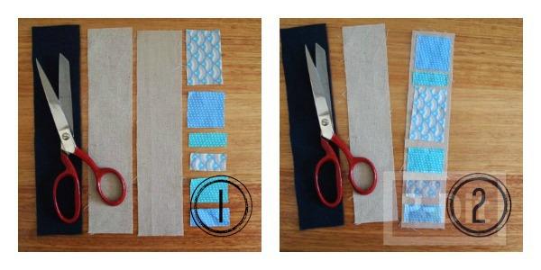 รูป 3 ที่คั่นหนังสือสวยๆ ทำจากเศษผ้า เย็บลายง่ายๆ