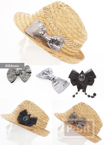 รูป 2 ไอเดียตกแต่งหมวกสวยๆ