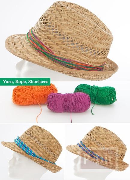 รูป 3 ไอเดียตกแต่งหมวกสวยๆ