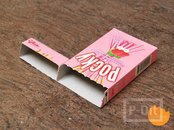 รูป 6 ที่ใส่ดินสอ กระดาษโน๊ต ทำจากกล่องขนม