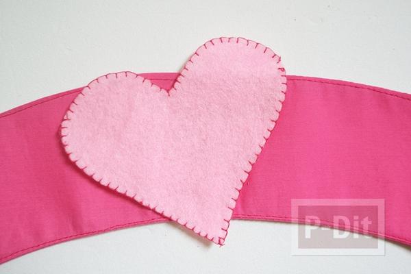 รูป 3 ผ้าหุ้มแก้วกาแฟสวยๆ ลายหัวใจส่งรัก