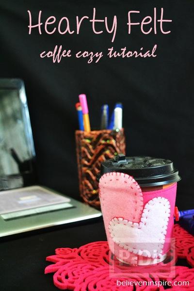 รูป 7 ผ้าหุ้มแก้วกาแฟสวยๆ ลายหัวใจส่งรัก