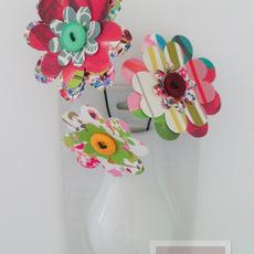 พับกระดาษทำดอกไม้ สวยๆ