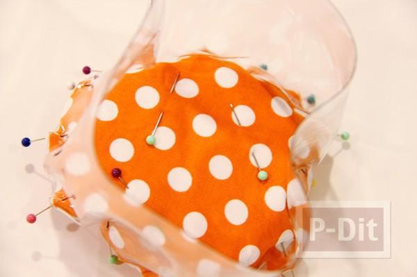 รูป 7 ถุงใส่ของเล่น ทำจากผ้า และพลาสติก
